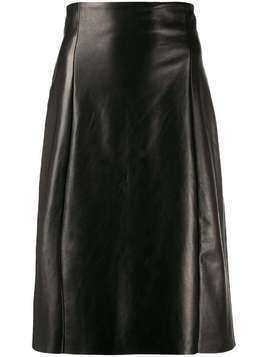 Drome straight-cut midi skirt - Black