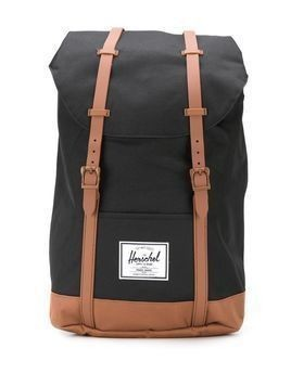 Herschel Supply Co. Retreat contrasting strap backpack - Black