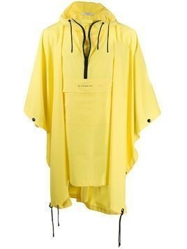 Givenchy poncho rain coat - Yellow