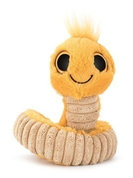 Jellycat snake soft toy - Yellow