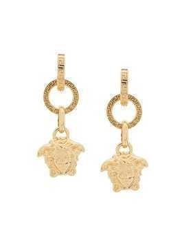 Versace Medusa pendant earrings - Gold