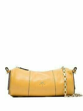 Manu Atelier Cylinder chain shoulder bag - Yellow