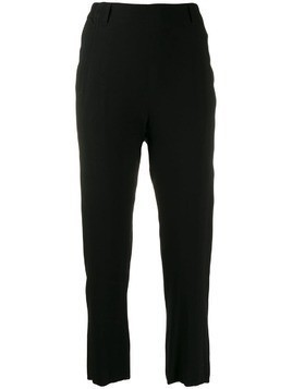 Ann Demeulemeester cropped trousers - Black