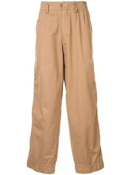 Kolor oversized chinos - Brown
