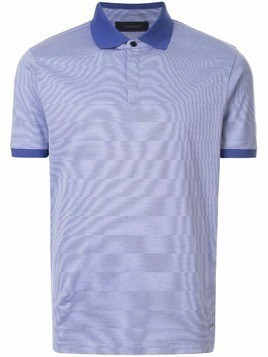 D'urban classic striped polo shirt - Blue