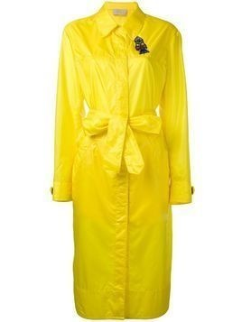 Christopher Kane long parachute coat - Yellow & Orange