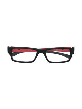 Oakley Airdrop XS rectangular glasses - Black