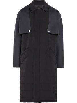 Mackintosh 0003 Black Padded 0003 Trench Coat