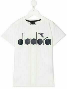 Diadora Junior logo print T-shirt - White