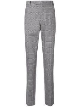 CK Calvin Klein check suit trousers - Grey