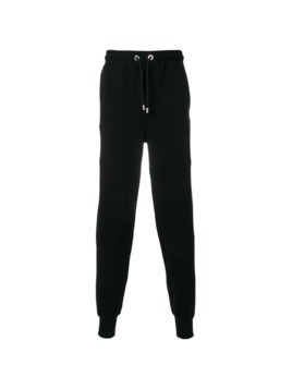 Versus logo patch sweat pants - Black
