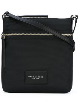 Marc Jacobs top zip messenger bag - Black