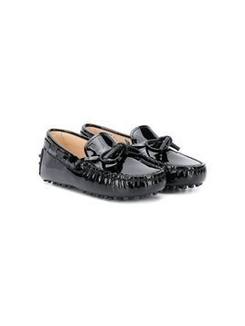 Tod's Kids patent loafers - Black