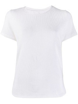 Majestic Filatures corduroy T-shirt - White
