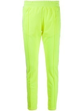 Chiara Ferragni logo stripe track pants - Yellow