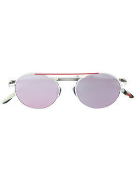 La Petite Lunette Rouge Salt Lake sunglasses - Metallic