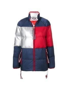 Hilfiger Collection Icon short down coat - Blue