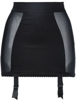 Ikonostas suspenders skirt - Black