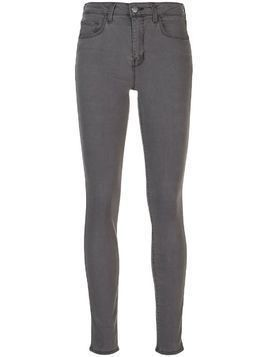 L'Agence high rise Marguerite skinny jeans - Cast-Iron