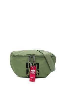 Eastpak logo embroidered belt bag - Green
