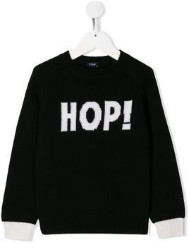 Il Gufo Hop! knit sweater - Black