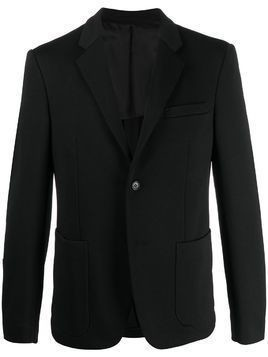 Prada patch pocket single-breasted suit jacket - Black
