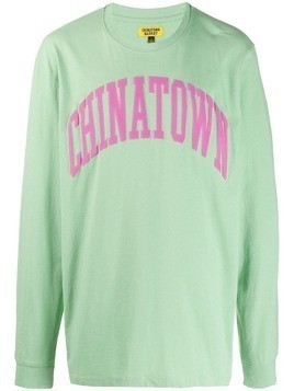 Chinatown Market branded jumper - Green
