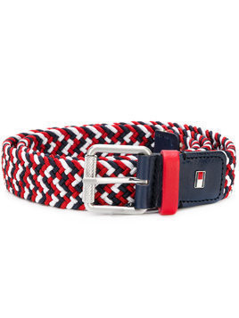 Tommy Hilfiger Junior TEEN woven belt - Red