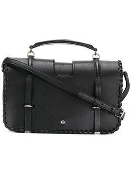 Saint Laurent whip stitch Charlotte messenger bag - Black