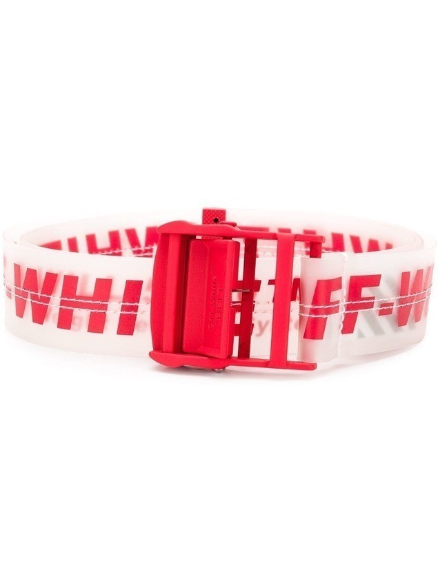 Off-White industrial belt - Red