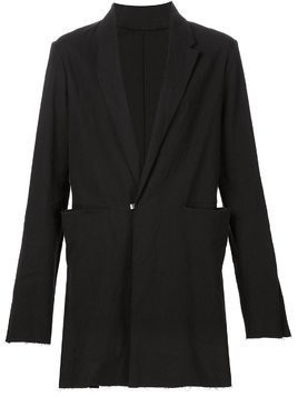 Ma+ long blazer - Black