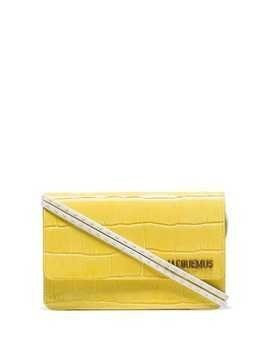 Jacquemus Le Sac Riviera shoulder bag - Yellow