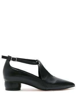 Studio Chofakian Salomé Studio76 leather pumps - Black