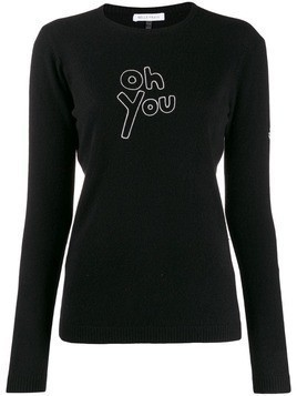 Bella Freud Oh You sweater - Black