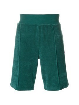 Champion textured logo patch shorts - Green