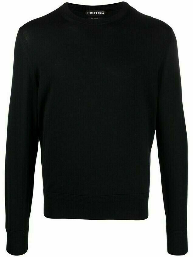 Tom Ford knitted wool jumper - Blue
