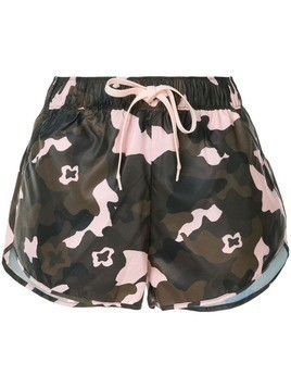 The Upside camouflage drawstring shorts - Multicolour