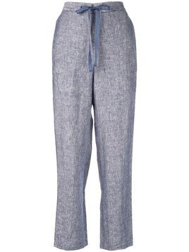 Onia loose fit tapered trousers - Blue