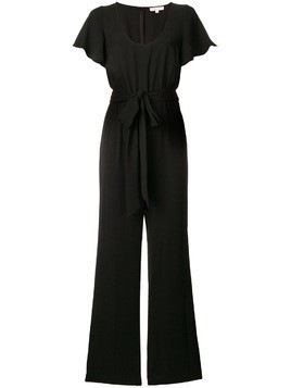 Michael Michael Kors short sleeved jumpsuit - Black
