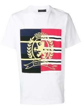 Hilfiger Collection embroidered crest T-shirt - White