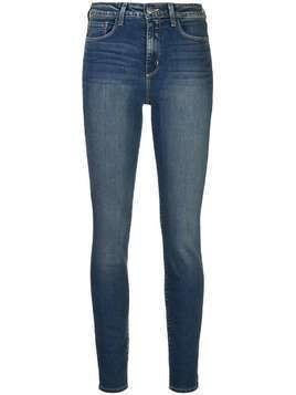 L'Agence high rise Marguerite skinny jeans - Blue