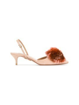 Aquazzura Powder Puff pumps - Pink&Purple