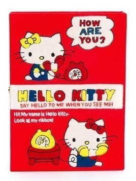 Olympia Le-Tan 'Hello Kitty Book' clutch - Red