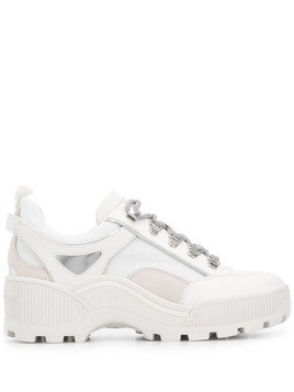 Michael Kors Collection Brooke lace-up sneakers - White