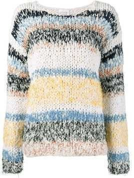 Chloé stripe knitted jumper - Multicolour
