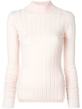 Theory ribbed turtleneck sweater - Pink & Purple