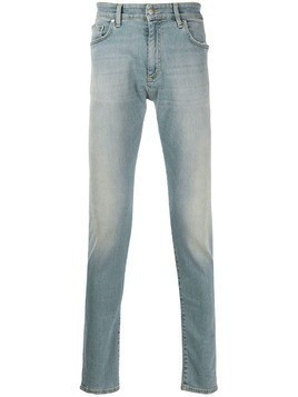 Represent high rise slim-fit jeans - Blue