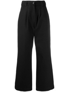 Margaret Howell wide leg trousers - Black