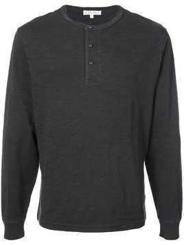 Alex Mill Henley long-sleeve top - Black