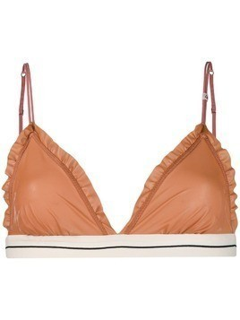 Love Stories riddle triangle bra - Pink